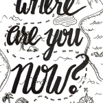 """Where are you now"" by Carol Mertz"